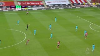 GOLO! Sheffield United, L. Mousset aos 69', Sheffield United 2-0 Tottenham
