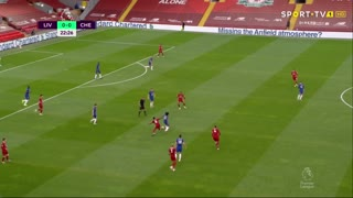GOLO! Liverpool, N. Keïta aos 23', Liverpool 1-0 Chelsea