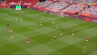 GOLO! Man. United, M. Rashford aos 20', Man. United 1-1 Southampton