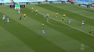 GOLO! Man. City, K. De Bruyne aos 90'+361', Man. City 2-0 Norwich