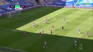 GOLO! Brighton, N. Maupay aos 90'+5', Brighton 2-1 Arsenal