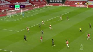 GOLO! Liverpool, S. Mané aos 20', Arsenal 0-1 Liverpool
