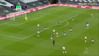GOLO! Tottenham, M. Kean aos 24', Tottenham 1-0 Everton
