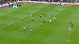 GOLO! Tottenham, S. Aurier aos 45', Tottenham 2-1 Wolverhampton