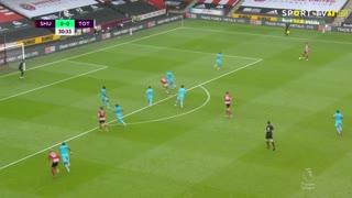 GOLO! Sheffield United, S. Berge aos 31', Sheffield United 1-0 Tottenham