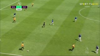 GOLO! Wolverhampton, Diogo Jota aos 74', Wolverhampton 3-0 Everton