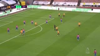 GOLO! Wolverhampton, Daniel Podence aos 41', Wolverhampton 1-0 Crystal Palace
