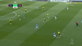 GOLO! Man. City, R. Sterling aos 79', Man. City 3-0 Norwich