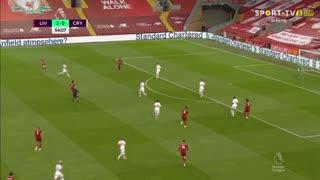 GOLO! Liverpool, Fabinho aos 55', Liverpool 3-0 Crystal Palace