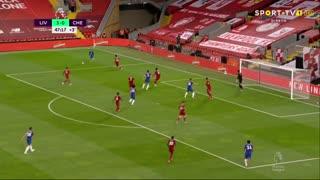 GOLO! Chelsea, O. Giroud aos 48', Liverpool 3-1 Chelsea