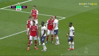 GOLO! Tottenham, T. Alderweireld aos 81', Tottenham 2-1 Arsenal