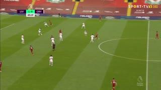 GOLO! Liverpool, Mohamed Salah aos 44', Liverpool 2-0 Crystal Palace
