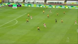 GOLO! Arsenal, A. Lacazette aos 86', Wolverhampton 0-2 Arsenal