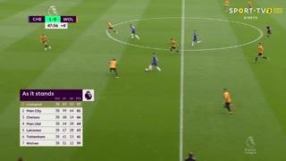 GOLO! Chelsea, O. Giroud aos 90'+364', Chelsea 2-0 Wolverhampton