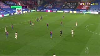 GOLO! Man. United, M. Rashford aos 45', Crystal Palace 0-1 Man. United