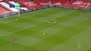 GOLO! Southampton, S. Armstrong aos 12', Man. United 0-1 Southampton