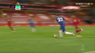 GOLO! Chelsea, T. Abraham aos 61', Liverpool 4-2 Chelsea