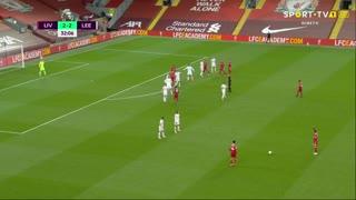 GOLO! Liverpool, Mohamed Salah aos 33', Liverpool 3-2 Leeds United