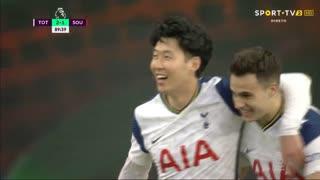 GOLO! Tottenham, Heung-Min Son aos 90', Tottenham 2-1 Southampton