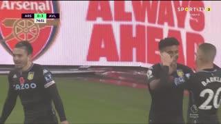 GOLO! Aston Villa, O. Watkins aos 75', Arsenal 0-3 Aston Villa