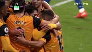 GOLO! Wolverhampton, Daniel Podence aos 27', Wolverhampton 2-0 Crystal Palace