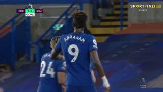 GOLO! Chelsea, T. Abraham aos 23', Chelsea 1-1 Sheffield United