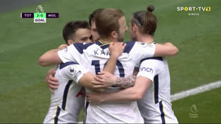 GOLO! Tottenham, P. Højbjerg aos 62', Tottenham 2-0 Wolverhampton