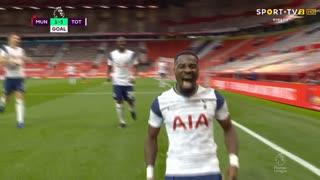 GOLO! Tottenham, S. Aurier aos 51', Man. United 1-5 Tottenham