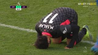 GOLO! Liverpool, Mohamed Salah aos 81', Crystal Palace 0-6 Liverpool
