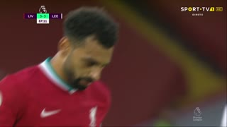 GOLO! Liverpool, Mohamed Salah aos 88', Liverpool 4-3 Leeds United