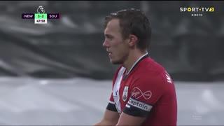 GOLO! Newcastle, M. Almirón aos 45'+4', Newcastle 3-2 Southampton