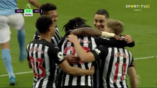 GOLO! Newcastle, J. Willock aos 62', Newcastle 3-2 Man. City