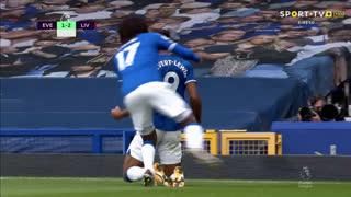 GOLO! Everton, D. Calvert-Lewin aos 81', Everton 2-2 Liverpool