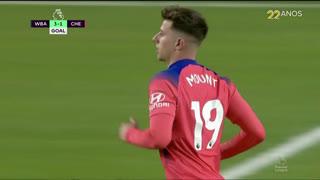 GOLO! Chelsea, M. Mount aos 55', West Bromwich Albion 3-1 Chelsea