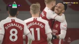 Premier League (24ª Jornada): Resumo Arsenal 4-2 Leeds United