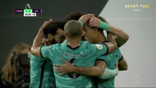 GOLO! Liverpool, Roberto Firmino aos 45'+3', Man. United 1-2 Liverpool