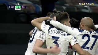 GOLO! Tottenham, H. Kane aos 52', Tottenham 3-1 Crystal Palace