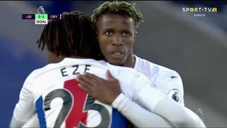 GOLO! Crystal Palace, W. Zaha aos 12', Leicester City 0-1 Crystal Palace