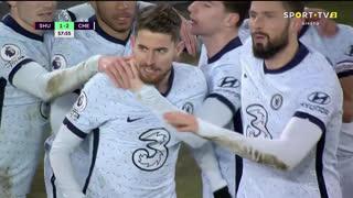 GOLO! Chelsea, Jorginho aos 58', Sheffield United 1-2 Chelsea
