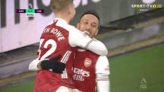 GOLO! Arsenal, P. Aubameyang aos 47', Arsenal 4-0 Leeds United