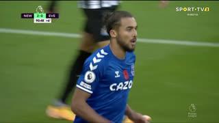 GOLO! Everton, D. Calvert-Lewin aos 90'+1', Newcastle 2-1 Everton