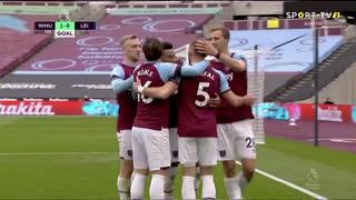 GOLO! West Ham, J. Lingard aos 29', West Ham 1-0 Leicester City