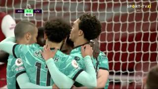 GOLO! Liverpool, Diogo Jota aos 82', Arsenal 0-3 Liverpool