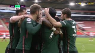 GOLO! Tottenham, S. Aurier aos 5', Sheffield United 0-1 Tottenham