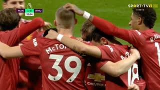 GOLO! Man. United, C. Dawson (p.b.) aos 53', Man. United 1-0 West Ham