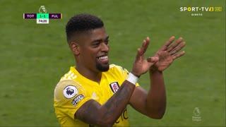 GOLO! Fulham, Ivan Cavaleiro aos 74', Tottenham 1-1 Fulham