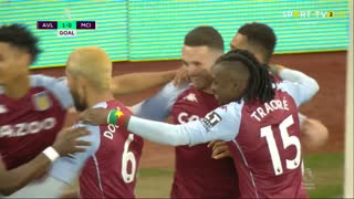 GOLO! Aston Villa, J.  McGinn aos 1', Aston Villa 1-0 Man. City