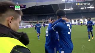 GOLO! Leicester City, Y. Tielemans aos 72', Newcastle 0-2 Leicester City