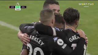 GOLO! Aston Villa, O. Watkins aos 72', Arsenal 0-2 Aston Villa