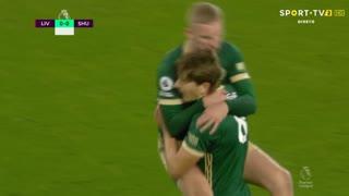 GOLO! Sheffield United, S. Berge aos 13', Liverpool 0-1 Sheffield United
